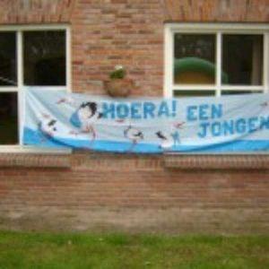 Banner Jongen