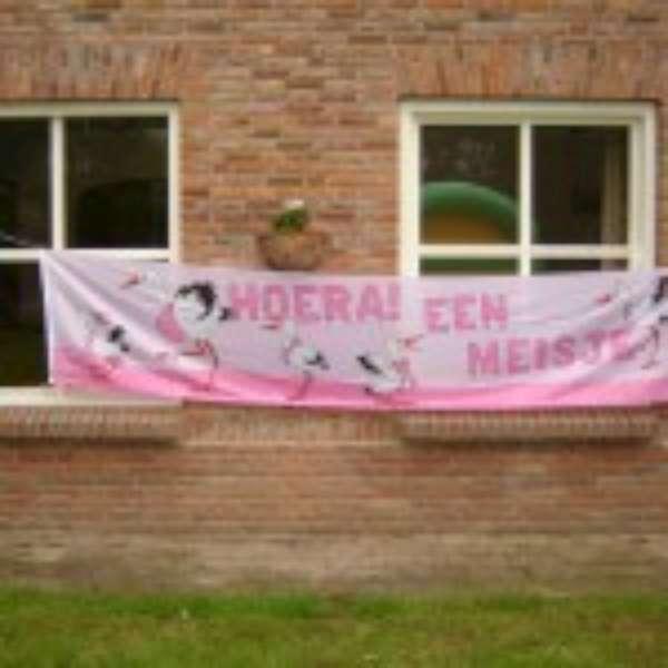 Banner Meisje